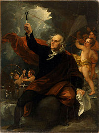 West - Benjamin Franklin Drawing Electricity from the Sky (ca 1816).jpg